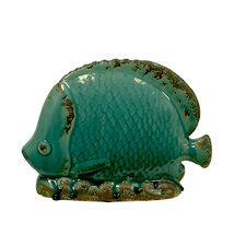 <strong>Urban Trends</strong> Home and Garden Accents Fish Figurine