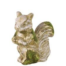 Stoneware Squirrel Figurine