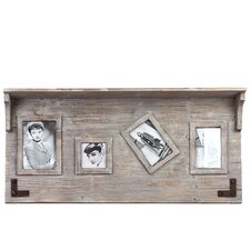<strong>Urban Trends</strong> Wooden Shelf Picture Frame