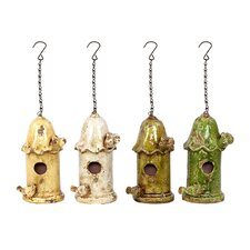 Hanging Bird Houses (Set of 4)