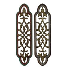 Wooden Wall Decor (Set of 2)
