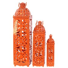 Metal Lanterns Set of Three