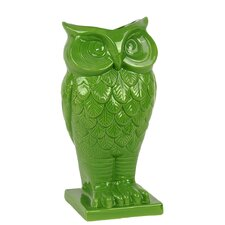 <strong>Urban Trends</strong> Home and Garden Accents Owl Vase