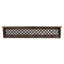 Wooden Shelf/Coat Hanger