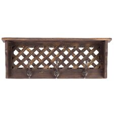 Wooden Shelf/Coat Hanger