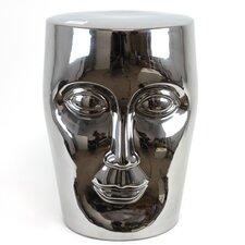 Ceramic Face Garden Stool