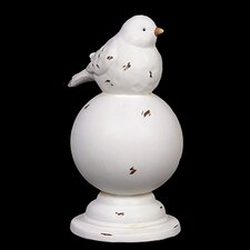Ceramic Bird On Stand