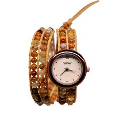 <strong>Winky Designs</strong> On the Rocks Double Wrap Watch