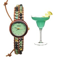<strong>Winky Designs</strong> On the Rocks Classic Wrap Watch