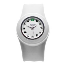 <strong>Winky Designs</strong> Iconic Camera Slap Watch (White)