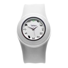 Ionic Computer Slap Watch (White)
