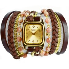 Sweet Dreams Women's Tiramisu Wrap Watch