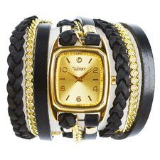 Sweet Dreams Women's Blackberry Galette Wrap Watch