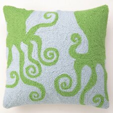 Octopuses Wool Pillow