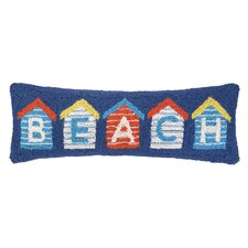 Nautical Hook Beach House Pillow