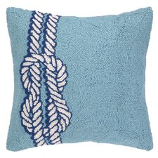 Nautical Hook Knot Pillow