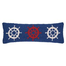 Nautical Hook Helm Trio Pillow