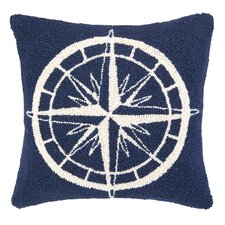 Nautical Hook Compass Pillow