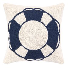 Nautical Hook Life Buoy Pillow