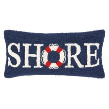 Nautical Hook Shore Life Buoy Pillow