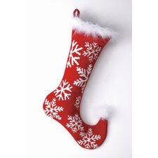 Snowflakes Needlepoint Stocking