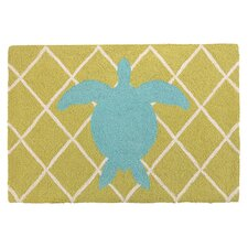 Sea Turtle Hook Rug