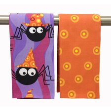Funky Spiders Kitchen Towel (Set of 2)