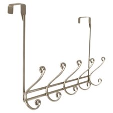 Modena Over the Door 5 Hook Rack