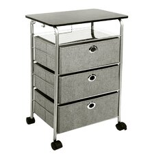 "31.5"" 3 Drawer Eyelet Cart"