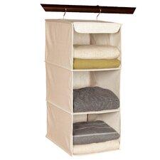 Nature of Storage Canvas Natural3 Shelf Sweater Organizer