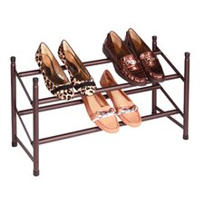 Stacking-Telescoping Shoe Rack