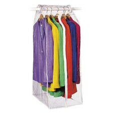 Clear Vinyl Storage Frameless Suit Garment Cover