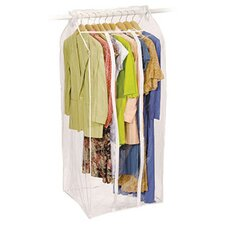 Clear Vinyl Storage Frameless Jumbo Dress Garment Cover