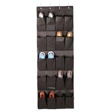 Expressive Closet Storage 20-Pocket Over the Door Organizer