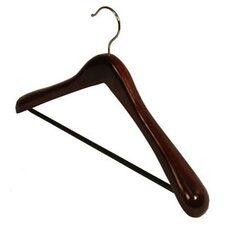 <strong>Richards Homewares</strong> Wood Rib Bar Suit Hanger