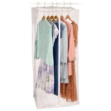 <strong>Richards Homewares</strong> Clear Vinyl Storage Jumbo Maxi Rack Dress Garment Cover