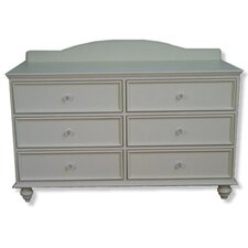 Lily Rae 6-Drawer Double Dresser