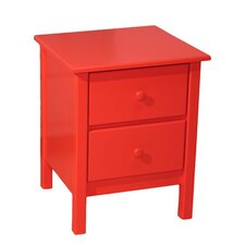 <strong>Relics Furniture</strong> Midtown 2 Drawer Nightstand