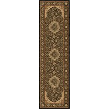 American Heirloom Osteen Black Rug