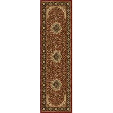 American Heirloom Osteen Claret Rug