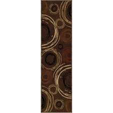 Nuance Brown Centric Rug