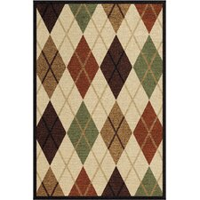 Four Seasons Arbor Argyle Rug