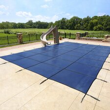 Rectangular Ground Pool Safety Cover