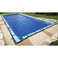 Dirt Defender 15-Year Rectangular In Ground Pool Winter Cover