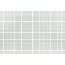 "Lisa 1"" x 1"" Glass Mosaic in Blanco"