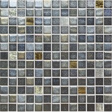 "Fuse Glass FU011 1"" x 1"" Glass Mosaic"