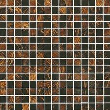 "Classy Glass 4/5"" x 4/5"" Glass Mosaic in Zanzibar"