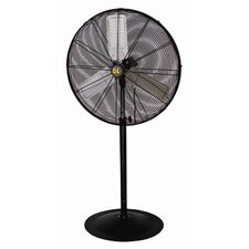 "30"" Direct Drive 3 Speed Oscillating Pedestal Fan"