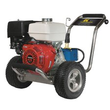 <strong>BE Pressure</strong> 4000 PSI 4 GPM Cold Water Stainless Steel Cat Pump Pressure Washer