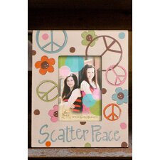 Scatter Peace Picture Frame